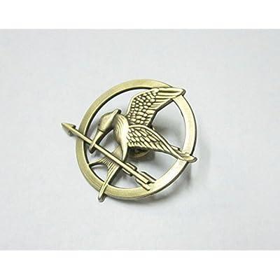 Mimiki Hunger Games Movie Mockingjay Prop Rep Pin Metal: Toys & Games
