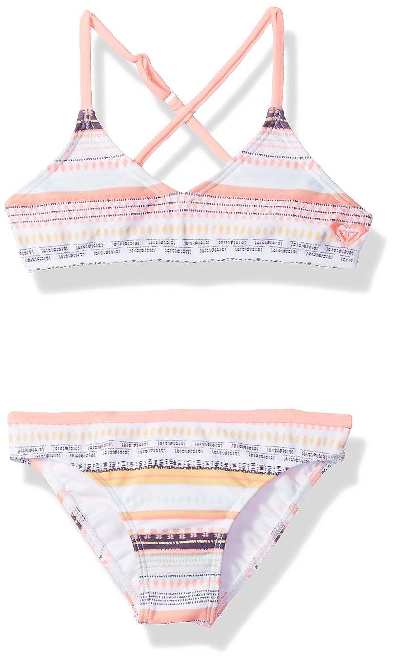 Roxy Girls' Little Indi Two Piece Bikini Swimsuit Set ERLX203040