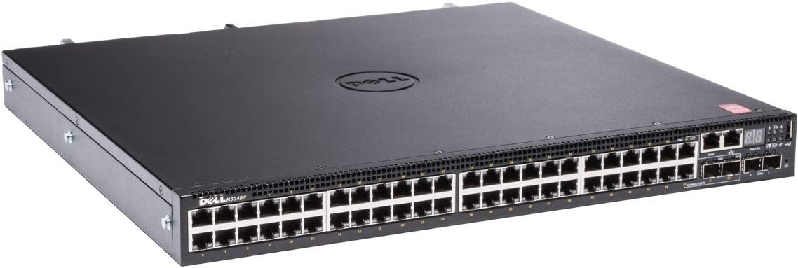 Dell Networking N3048P - Switch - 48 Ports - Managed - Rack-mountable (462-5881)