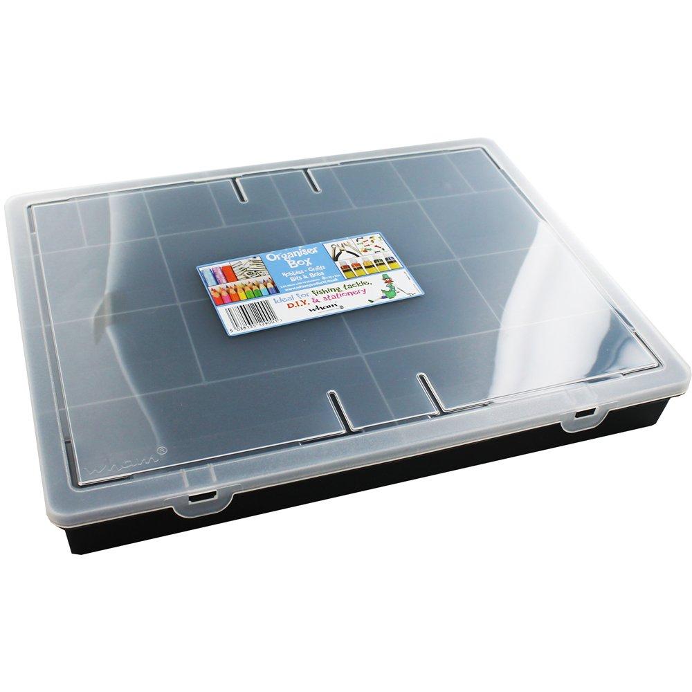 Wham 12907–Clasificador 5.02, 18Compartimentos, 38x 30x 5cm, Color Fucsia 401845