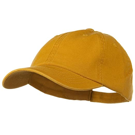 1f798ae7206 Image Unavailable. Image not available for. Color  Deluxe Garment Washed  Cotton Twill Cap ...