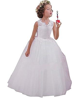White Princess Dresses for Juniors