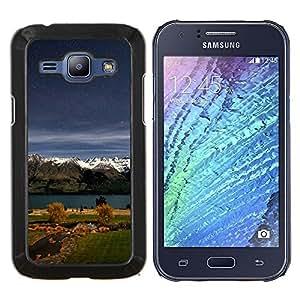 Queen Pattern - FOR Samsung Galaxy J1 J100 J100H - Sunset Beautiful Nature 77 - Cubierta del caso de impacto con el patr???¡¯???€????€?????