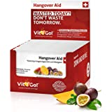 Vit2Go! Hangover Aid / Anti Kater Mittel im 30er Set / Hangover Drink zur Rehydration / auch zum Vorbeugen / erfrischendes Getränk mit Elektrolyten, Vitaminen, Mineralien & Co