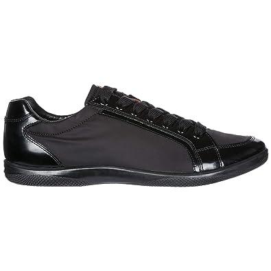 a3ba51fb1a99cd Prada Basket Homme Nero 39.5 EU  Amazon.fr  Chaussures et Sacs