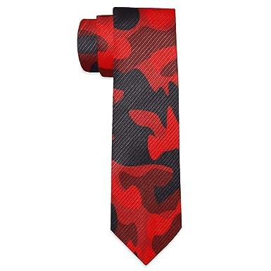Wamika Corbata de camuflaje militar para hombre: Amazon.es: Ropa y ...