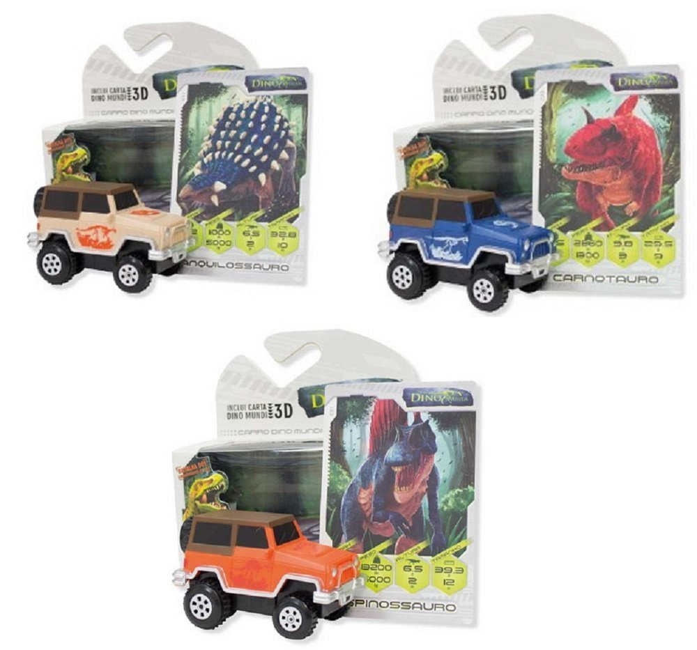 Amazon.com: DINO RAMPAGE CAR - Includes one Car: Home & Kitchen