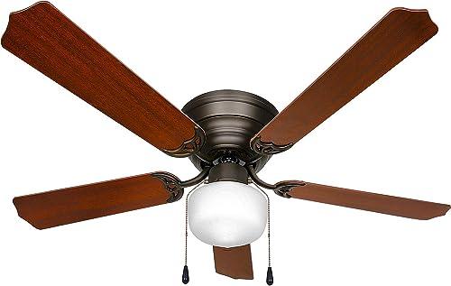 Oil-Rubbed Bronze 52 inch Ceiling Fan