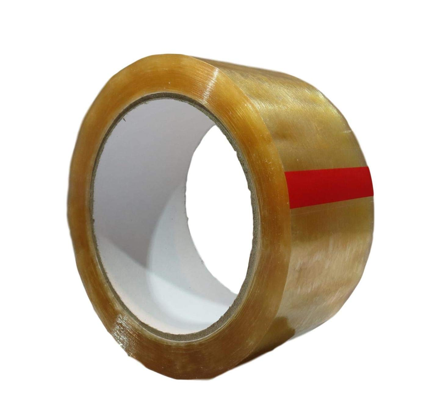 T.R.U. CELLO Biodegradable Cellophane Clear Stationery/Light Duty Packaging Cellulose Sealing Tape: 2 in. (W) x 72 yds. (L) - 3 in. core (Pack of 10)