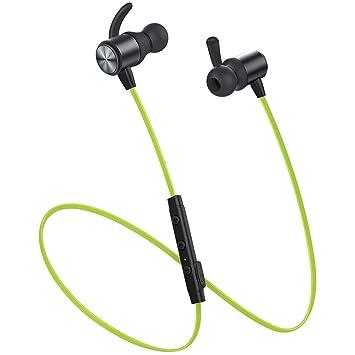 HLLZL Auriculares Bluetooth Cascos Bluetooth magnéticos y Deportivos, Auriculares inalámbricos con Bluetooth 4.1 para Running (Resistentes al Sudor, ...