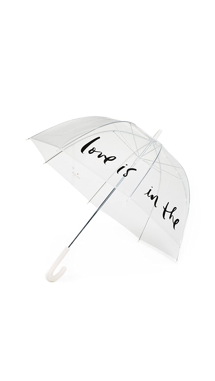 Kate Spade New York Women's Love Is in the Air Clear Umbrella Pink/Clear One Size Lifeguard Press