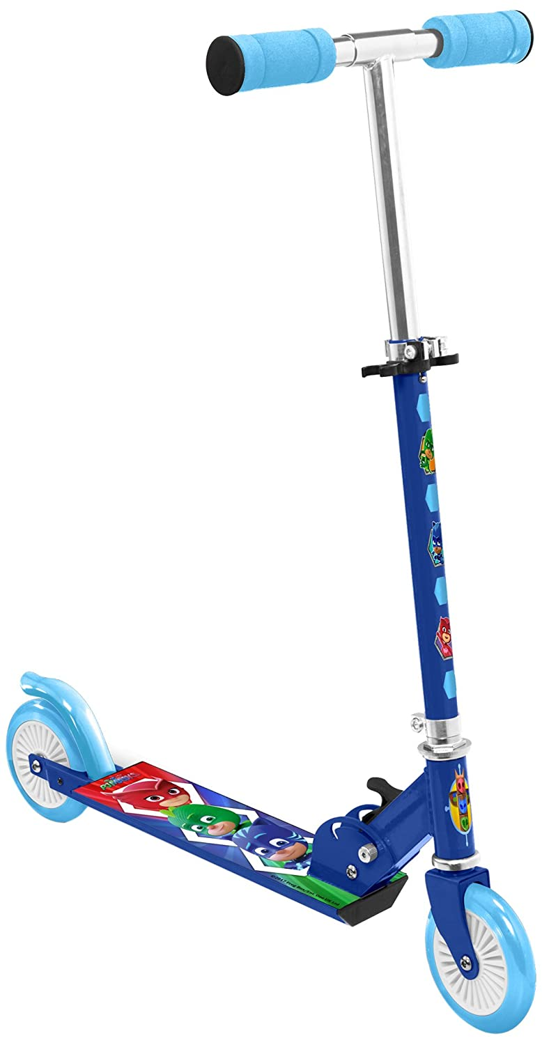 Stamp Sas- PJ Masks Scooter, Color Blue/Green/Red, única ...