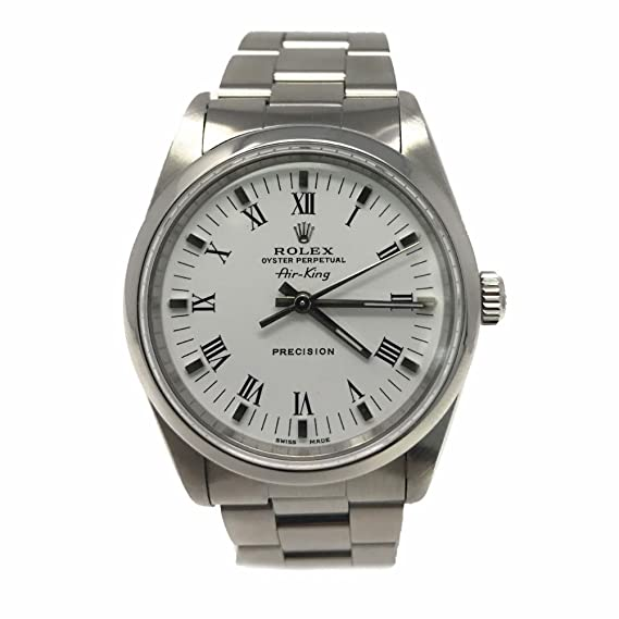 Rolex Air-King swiss-automatic Mens Reloj 14000 (Certificado) de segunda mano: Rolex: Amazon.es: Relojes