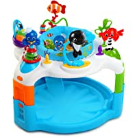 Baby Einstein Rhythm of The Reef Baby Activity Saucer Bouncer Play Center w/ 360 Degree Rotating Seat, Soothing Ocean…