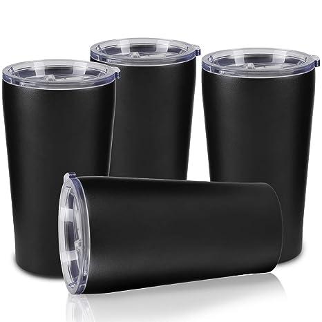 Pack of 3 Stainless Steel Cup16oz Mug Drinking Coffee Beer Tumbler Camp Travel