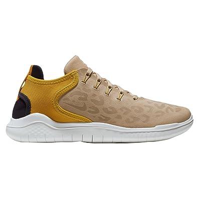 NIKE W Nike Free Rn Running 2018 Wild Suede AQ0562-200 DESERT Size 6.5