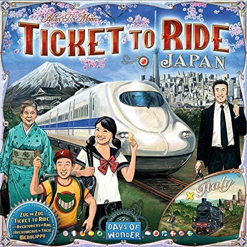 Days of Wonder-¡Aventureros al Tren Italia & Japón-Varios Idiomas ...