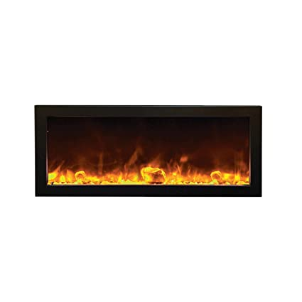 Astounding Amantii Outdoor Panorama Series Slim Electric Fireplace 40 Interior Design Ideas Philsoteloinfo