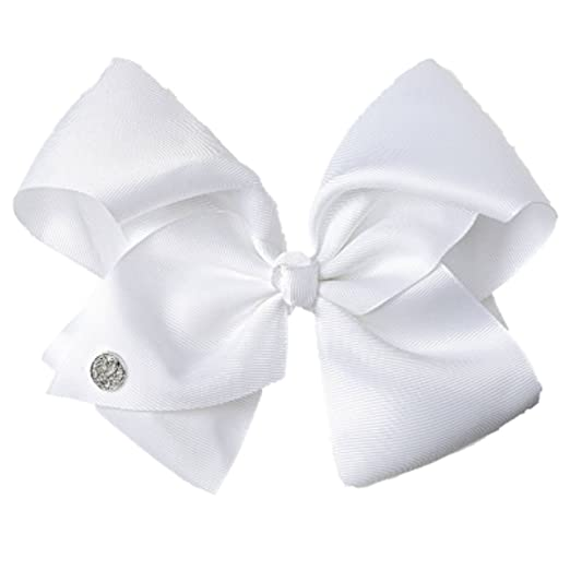 Amazon.com  JoJo Siwa Large White Signature Hair Bow Dance Hair Bow ... 38e70643319