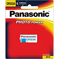 Panasonic Photo Lithium 3V Camera Battery, 1-Pack (CR-123AW/1BE)