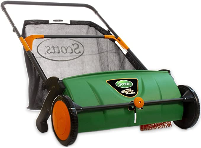 Scotts LSW70026S Push Lawn Sweeper - Best Lawn Sweeper for Beginners