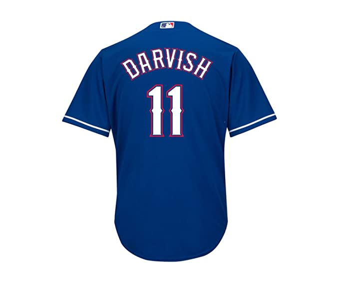 new arrival 710e4 43c93 Amazon.com: Outerstuff Yu Darvish Texas Rangers Blue Youth ...