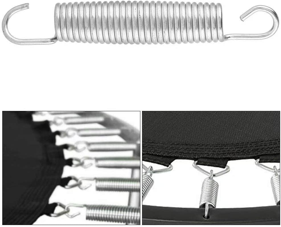 Pack of 10 Danning 5 1//2 Inch Trampoline Springs Heavy Duty Galvanized Steel Replacement Set for Extra Bounce