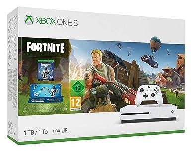 Xbox One S 1tb Weiss Fortnite Bundle Inkl Fortnite Battle