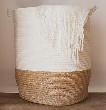 Extra Large Woven Storage Baskets | 18\