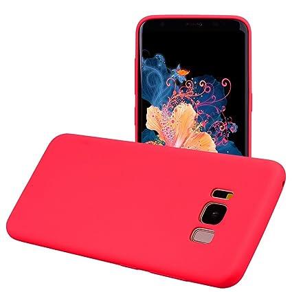 Funda Samsung Galaxy S8 PLUS, Yunbaozi Protective Case Carcasa Caucho Funda Protectora de Silicona Gelatina Caramelo Ultra Suave Flexible Delgado ...