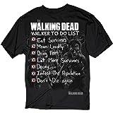 The Walking Dead Walker To Do List Adult Black T-shirt