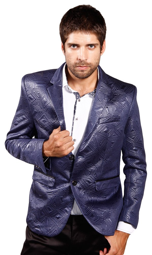 Barabas ''Angles'' Men's Blazer Jacket XX Large