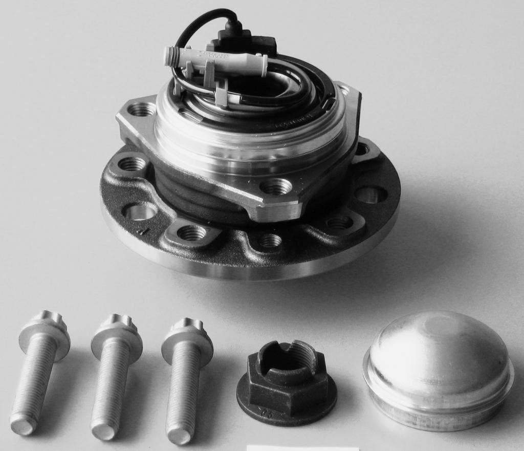 Front Wheel Hub Bearing Kit (5 Stud I/D 25mm) Aftermarket