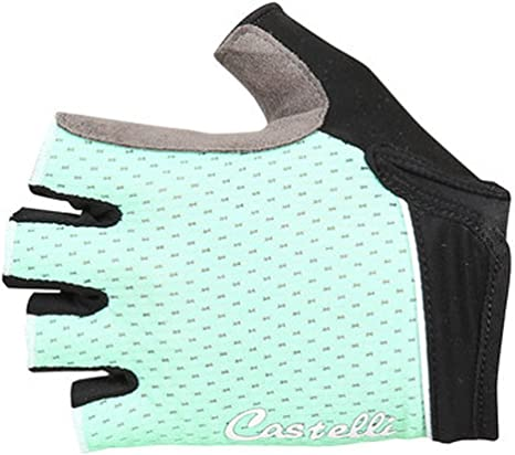 Castelli TESORO W Womens Summer Cycling Gloves BLACK//RED