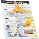 Funnyrunstore DIY Car Wind Shield Glass Repair Kit Cristal de vehículo Reparación de parabrisas Glass Crack