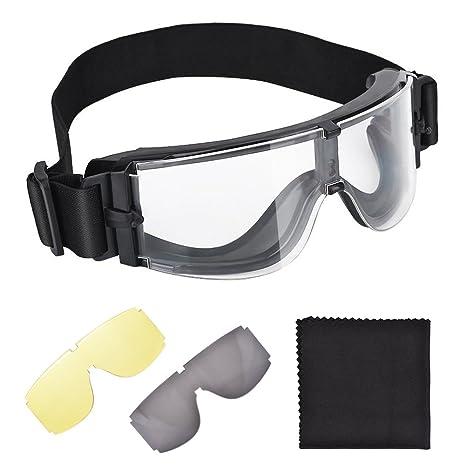 Gafas De Equitación Inastillable X800 Gafas Protectoras Para Jockey Para Caza Nacional Punto A Punto Plana