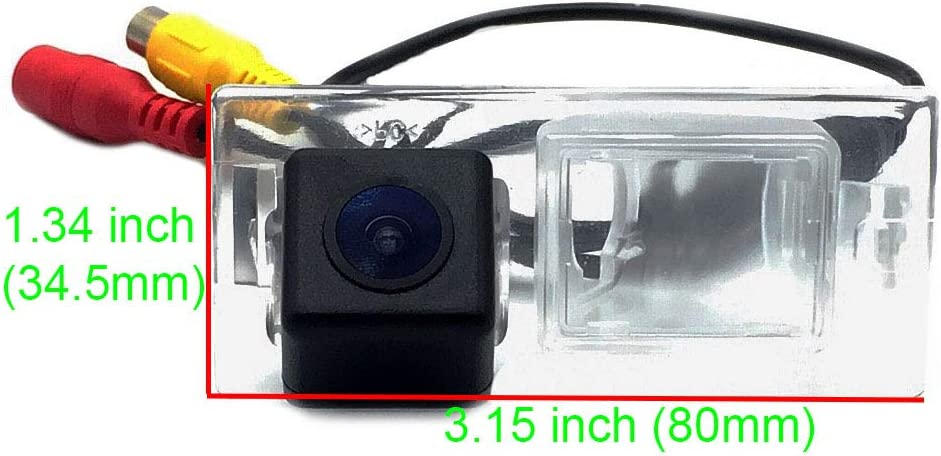 AupTech Car Rear View Backup Camera High Definition Waterprooof Night Vison Reversing Parking Camera NTSC Type With RCA Video Cable for Fiat Freemont Dodge Journey JC