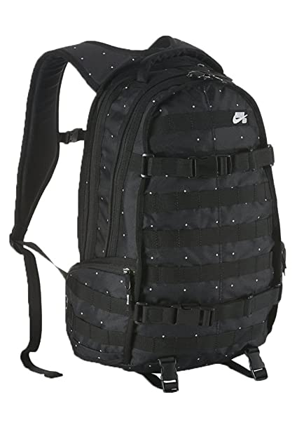 9f1985062dfe Image Unavailable. Image not available for. Color  Nike SB RPM Backpack  Black White ...