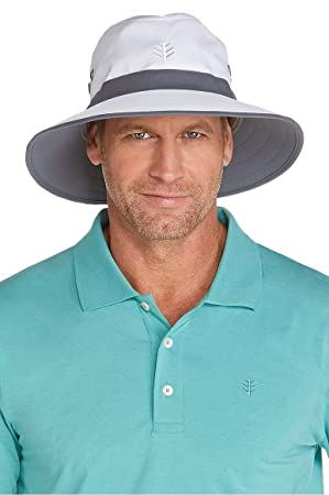 97794924d Coolibar Men's Upf 50+ Uv Sun Protective Matchplay Golf Hat