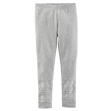 Image Unavailable. Image not available for. Color  Carter s Baby Clothing  Outfit Girls Sparkle Leggings Grey Fairisle 3M 8e2ca8c23