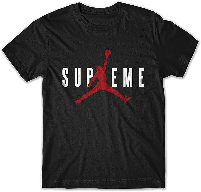 T-Shirt SUPREME Jordan AIR (M, Negro): Amazon.es: Ropa y accesorios