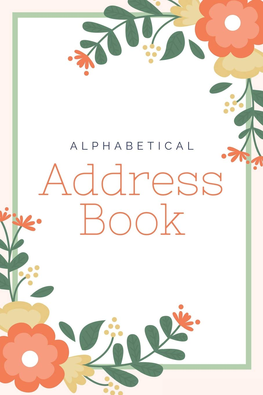 Email And Telephone Contacts Book Alphabetical Address Address Book