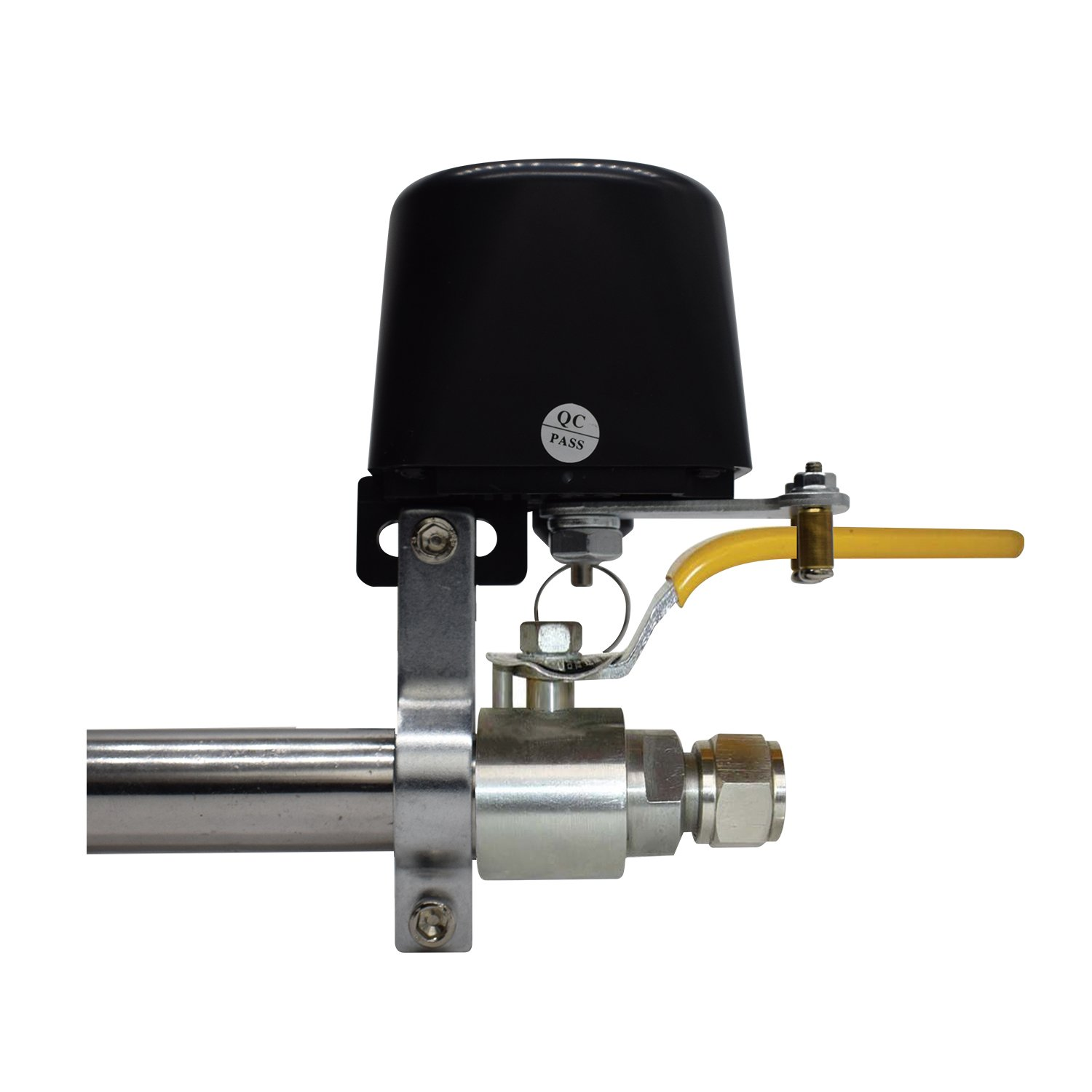 Universal Valve Lockout with Blocking Arm for Gas Detector