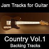 Jam Tracks for Guitar: Country Vol.1 Backing Tracks
