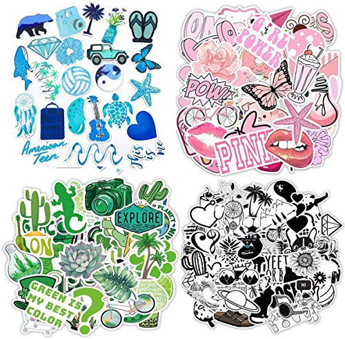 🥇 200PCS Mixed Stickers for Water Bottles