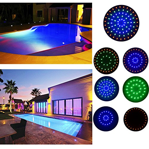 Top 10 best led underwater submersible pool lights reviews 2017 2018 on flipboard by led fixtures for Inground swimming pool light fixture