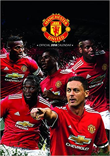 Manchester United F C Official  Calendar A Poster Format Calendar Calendar  Amazon Co Uk Manchester Utd Books