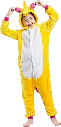 Pijama Animados Kigurumi Caballo Volador Cosplay Animal Unicornio para Niños Unisex