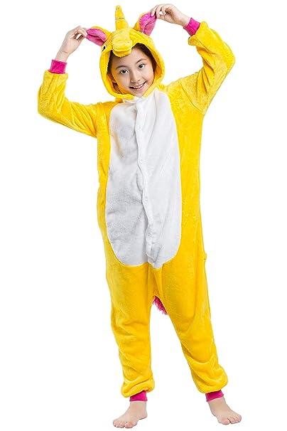 cb1d06bf Pijama Animados Kigurumi Caballo Volador Cosplay Animal Unicornio para  Niños Unisex