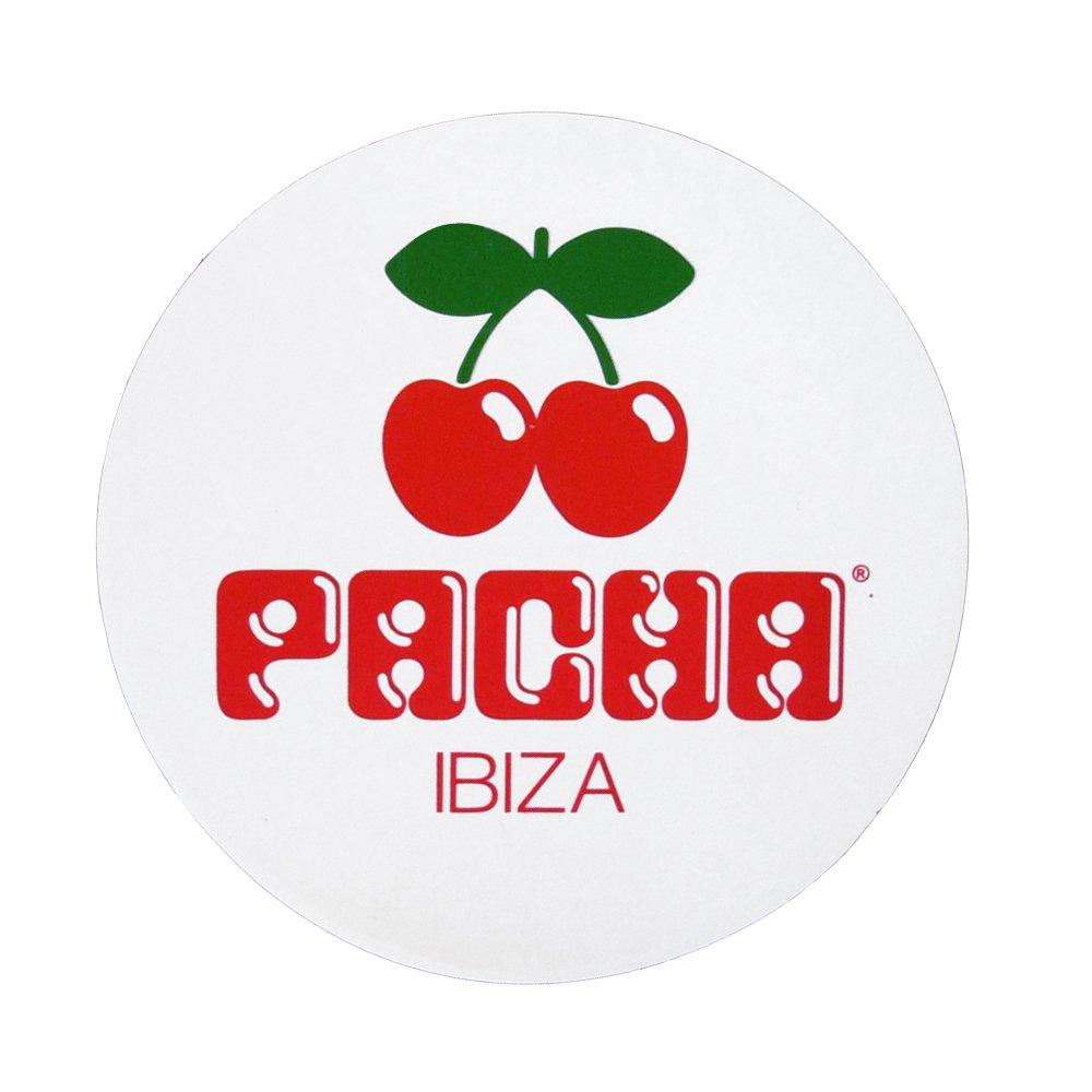Adesivo Grande con Logo Ciliegie PACHA Ibiza